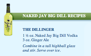 The Dillinger recipe